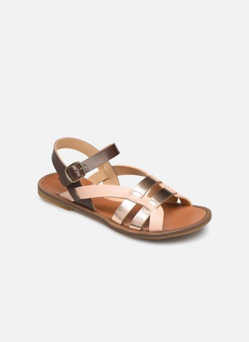 Sandales et nu-pieds Romagnoli Carlotta Multicolore vue détail/paire