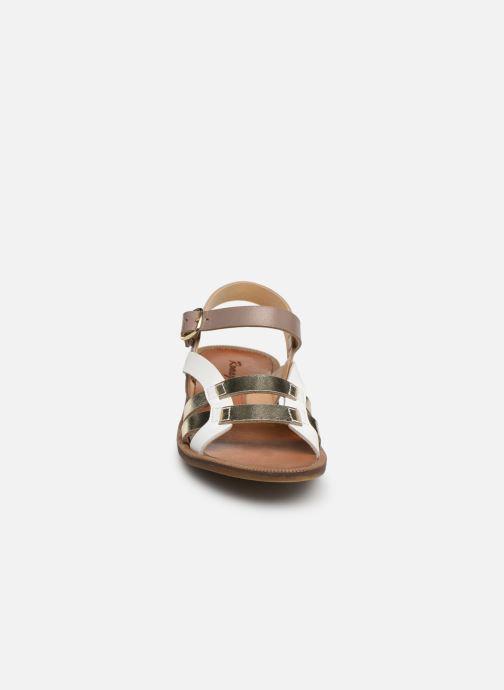 Sandals Romagnoli Carlotta Multicolor model view