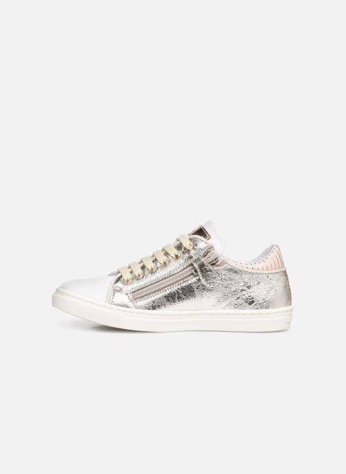 Sneaker Romagnoli Antonia silber ansicht von vorne