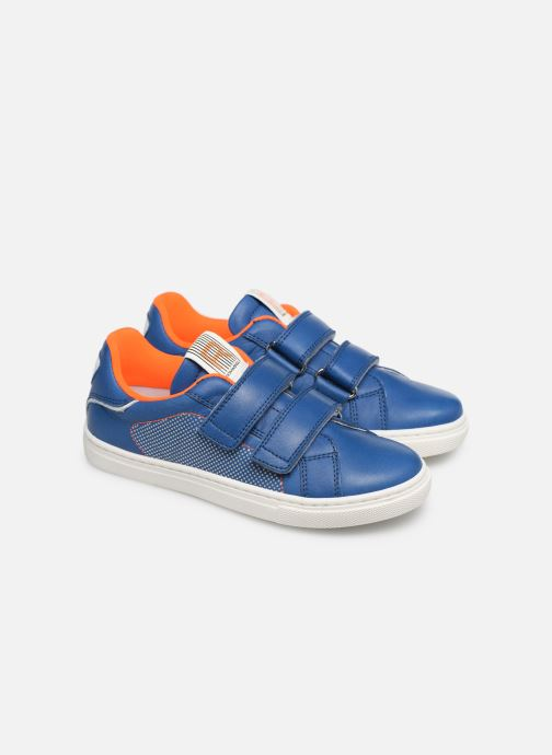 Sneakers Romagnoli Pietro Blauw 3/4'