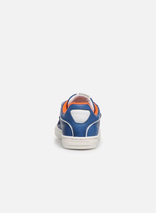 Baskets Romagnoli Pietro Bleu vue droite