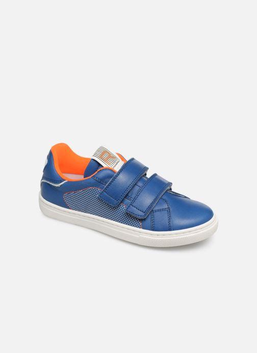Sneakers Romagnoli Pietro Blauw detail