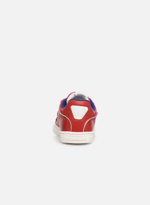 Sneakers Romagnoli Pietro Rosso immagine destra