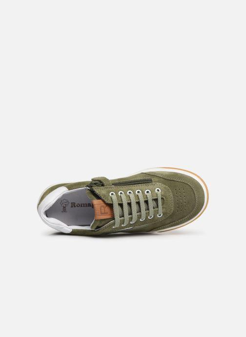 Sneakers Romagnoli Timo Groen links
