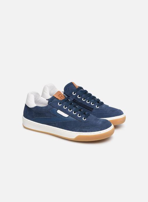 Sneakers Romagnoli Timo Blauw 3/4'