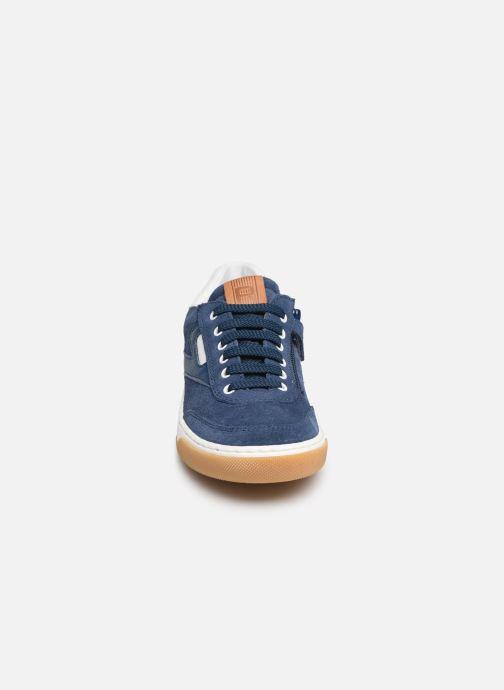 Baskets Romagnoli Timo Bleu vue portées chaussures