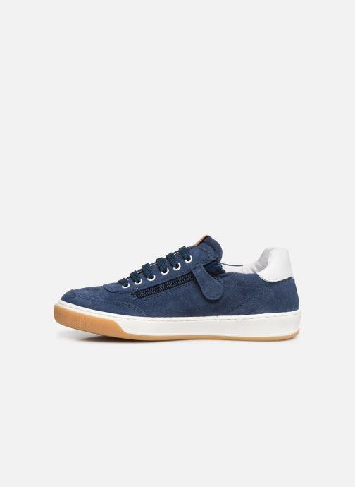 Sneakers Romagnoli Timo Blauw voorkant