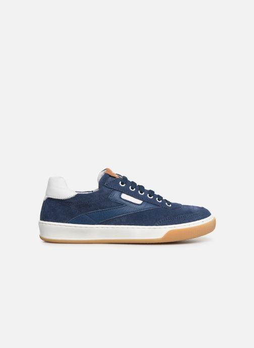 Sneakers Romagnoli Timo Blauw achterkant