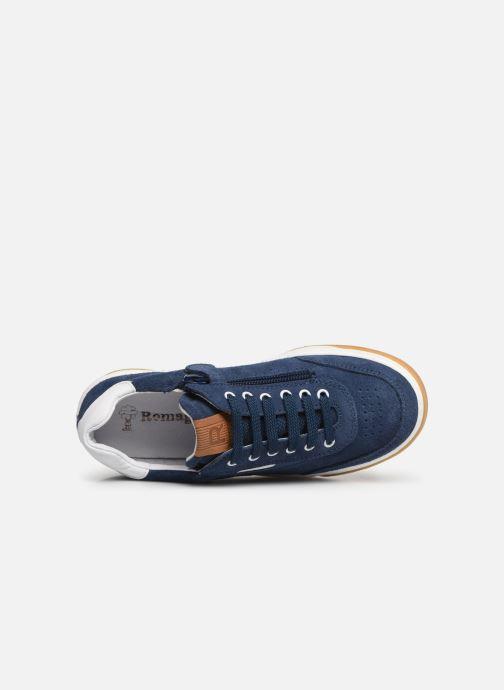 Sneakers Romagnoli Timo Blauw links