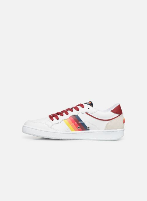 El91502 Red White Baskets Ellesse ukTOPiZX