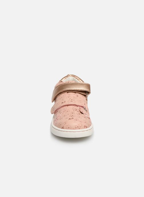 Trainers Mod8 Oupapillon Pink model view