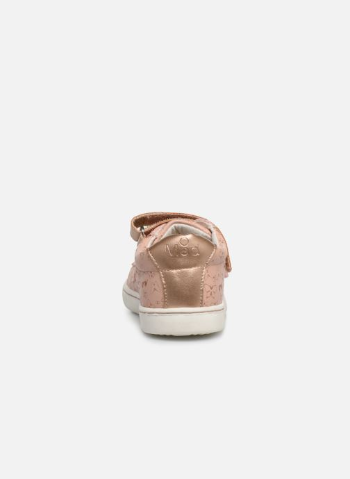 Trainers Mod8 Oupapillon Pink view from the right