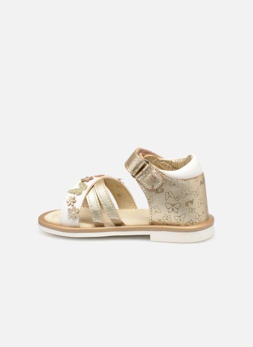 Sandales et nu-pieds Mod8 Shadia Or et bronze vue face