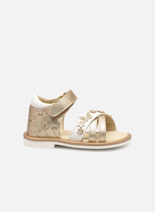 Sandales et nu-pieds Mod8 Shadia Or et bronze vue derrière