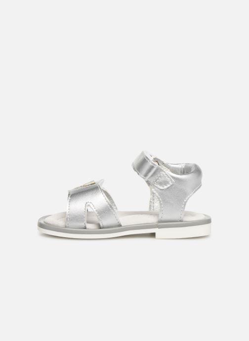 Sandales et nu-pieds Mod8 Shiny Argent vue face