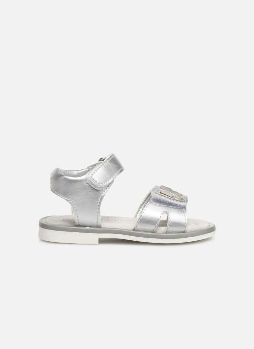 Sandales et nu-pieds Mod8 Shiny Argent vue derrière