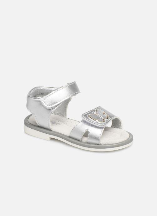 Sandales et nu-pieds Mod8 Shiny Argent vue détail/paire