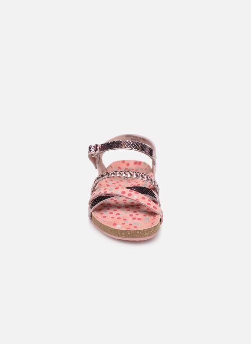 Sandales et nu-pieds Mod8 Koaly Rose vue portées chaussures