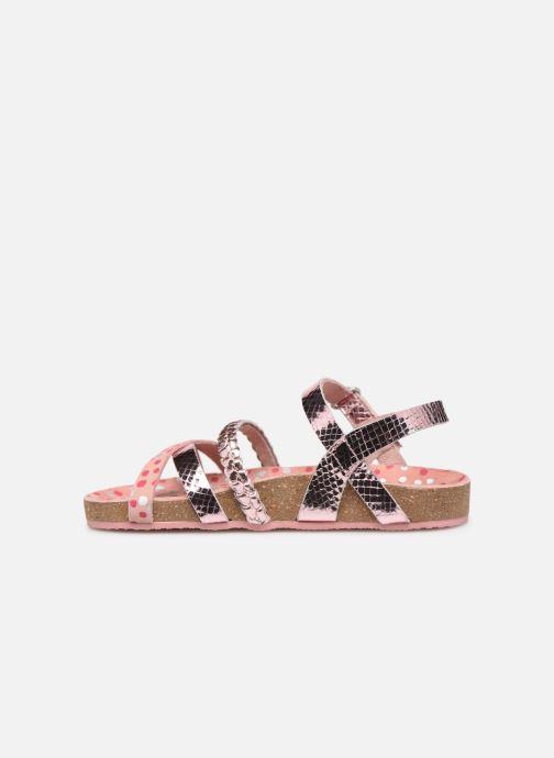 Sandales et nu-pieds Mod8 Koaly Rose vue face