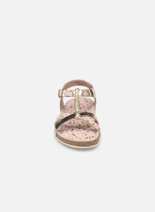 Sandales et nu-pieds Mod8 Korra Or et bronze vue portées chaussures