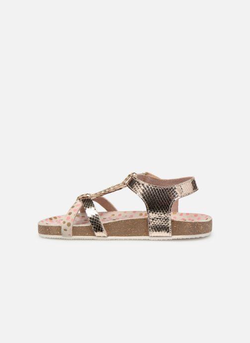 Sandales et nu-pieds Mod8 Korra Or et bronze vue face