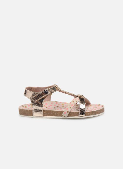 Sandales et nu-pieds Mod8 Korra Or et bronze vue derrière