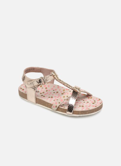 Sandales et nu-pieds Mod8 Korra Or et bronze vue détail/paire