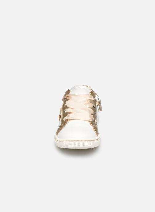 Baskets Mod8 Pakita Or et bronze vue portées chaussures