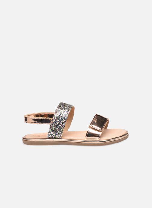 Sandales et nu-pieds Mod8 Paillette Rose vue derrière