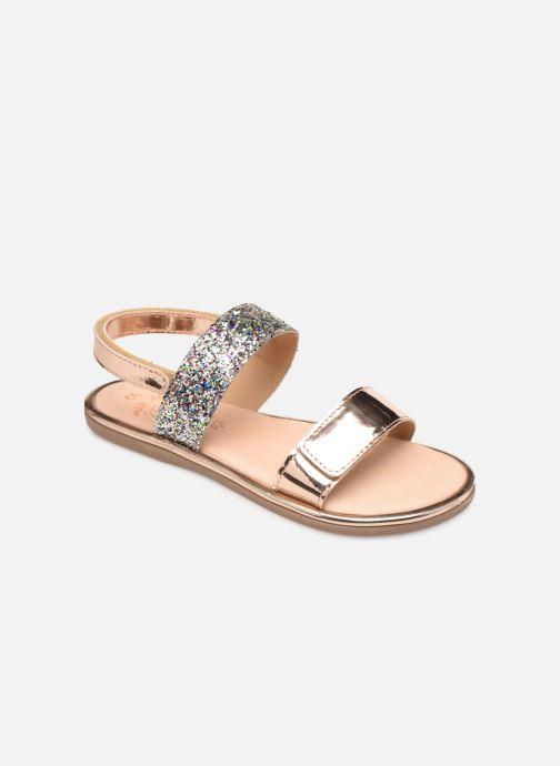 Sandales et nu-pieds Mod8 Paillette Rose vue détail/paire