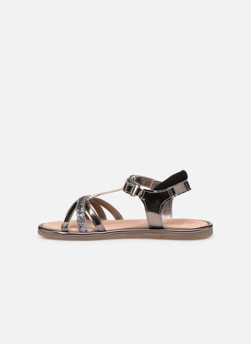 Sandales et nu-pieds Mod8 Paradis Noir vue face