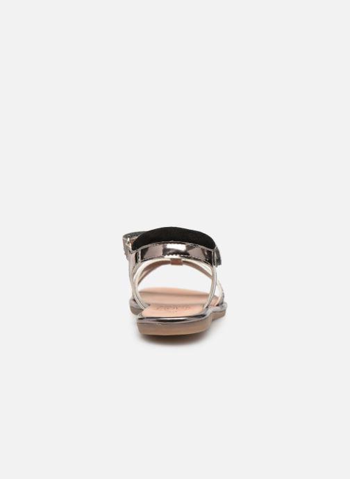 Sandales et nu-pieds Mod8 Paradis Noir vue droite
