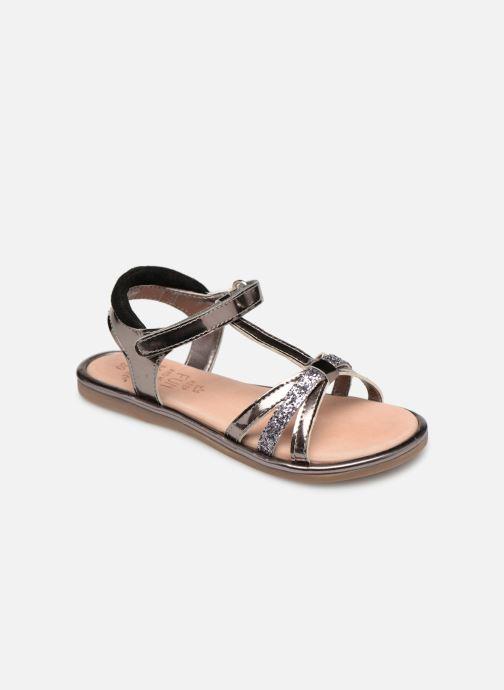 Sandales et nu-pieds Mod8 Paradis Noir vue détail/paire