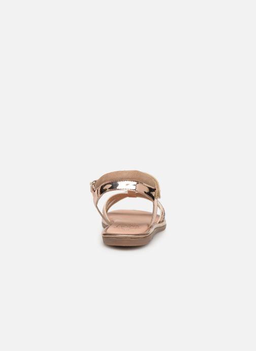 Sandales et nu-pieds Mod8 Paradis Rose vue droite
