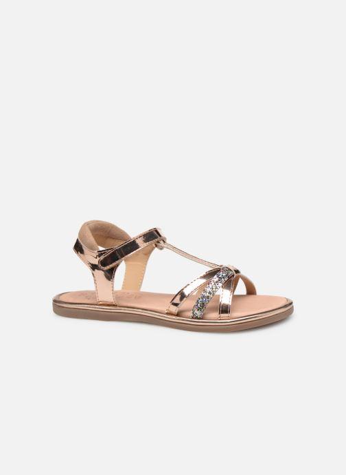 Sandales et nu-pieds Mod8 Paradis Rose vue derrière