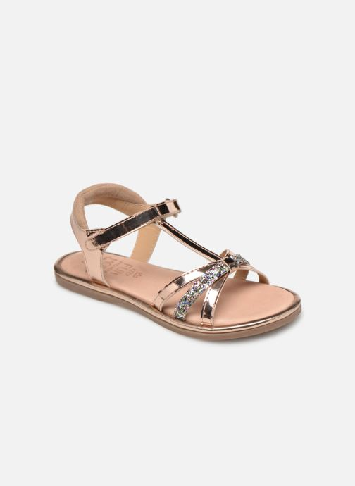 Sandales et nu-pieds Mod8 Paradis Rose vue détail/paire