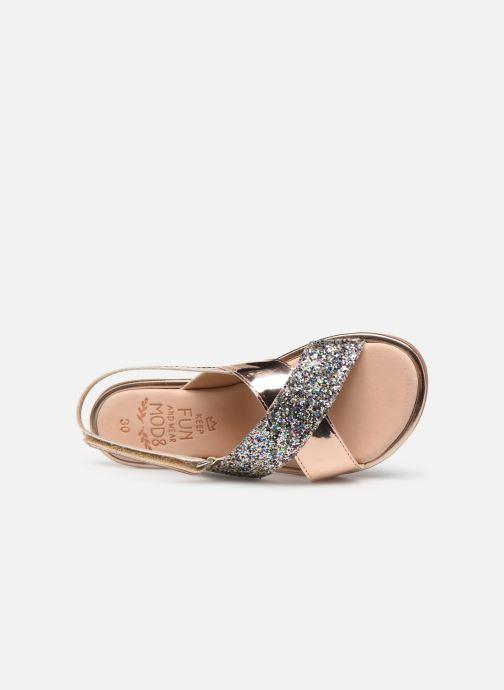 Sandales et nu-pieds Mod8 Pazily Rose vue gauche