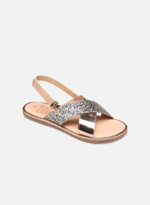 Sandales et nu-pieds Mod8 Pazily Rose vue détail/paire
