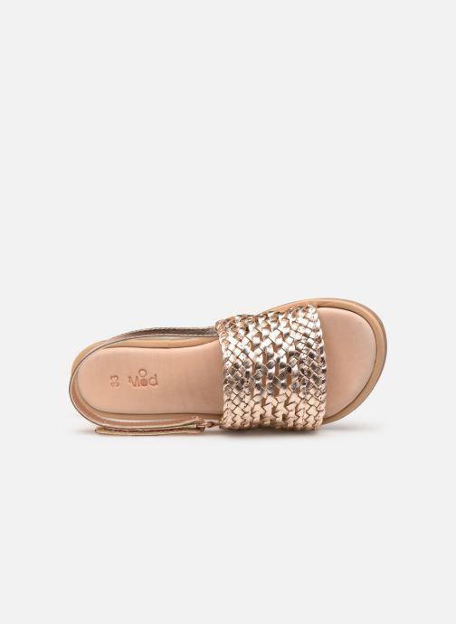 Sandales et nu-pieds Mod8 Parigirl Rose vue gauche