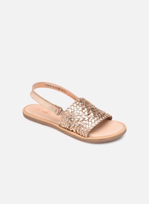 Sandales et nu-pieds Mod8 Parigirl Rose vue détail/paire