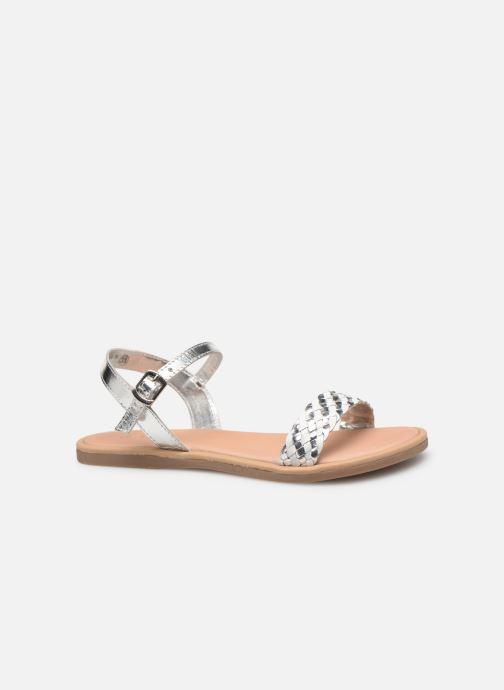 Sandales et nu-pieds Mod8 Parigirly Argent vue derrière