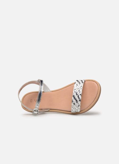 Sandales et nu-pieds Mod8 Parigirly Argent vue gauche
