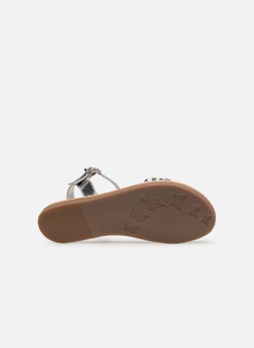 Sandales et nu-pieds Mod8 Parigirly Argent vue haut