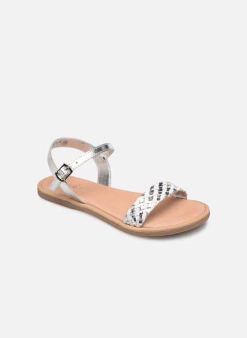 Sandales et nu-pieds Mod8 Parigirly Argent vue détail/paire