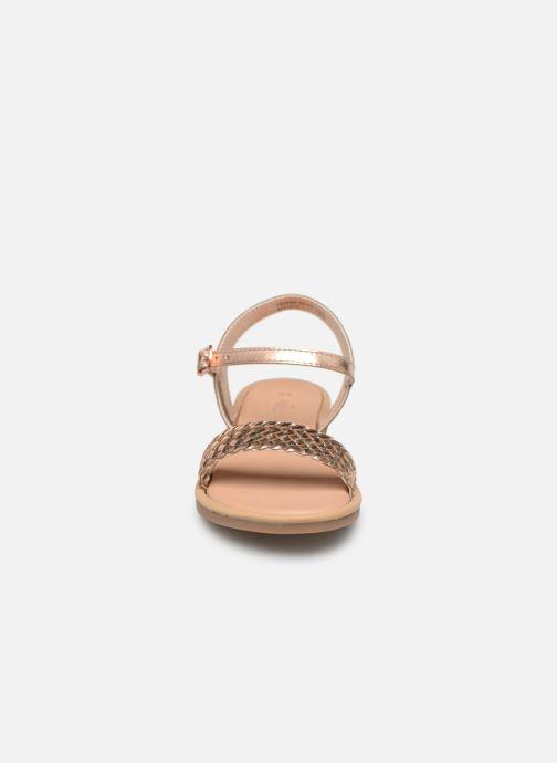 Sandales et nu-pieds Mod8 Parigirly Rose vue portées chaussures