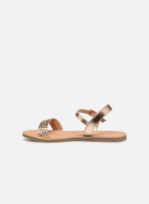 Sandales et nu-pieds Mod8 Parigirly Rose vue face