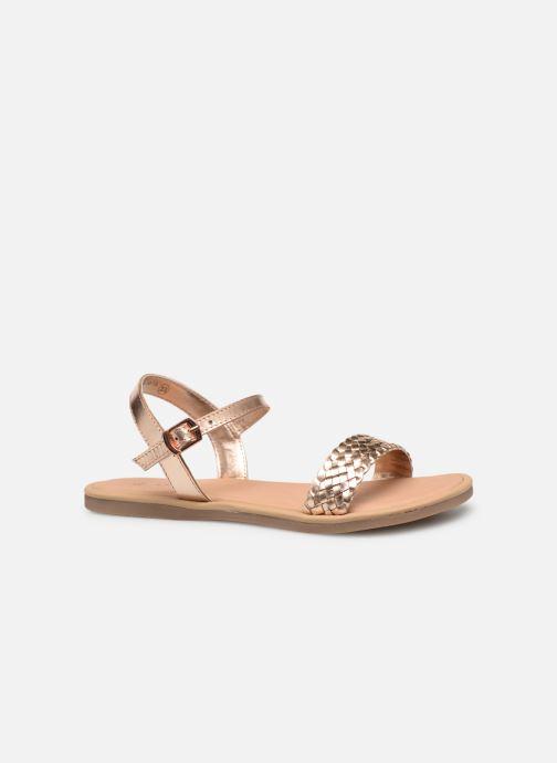 Sandales et nu-pieds Mod8 Parigirly Rose vue derrière
