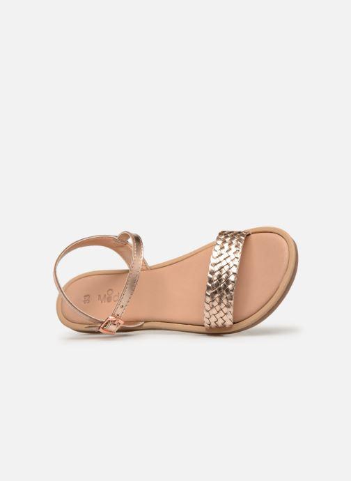 Sandales et nu-pieds Mod8 Parigirly Rose vue gauche