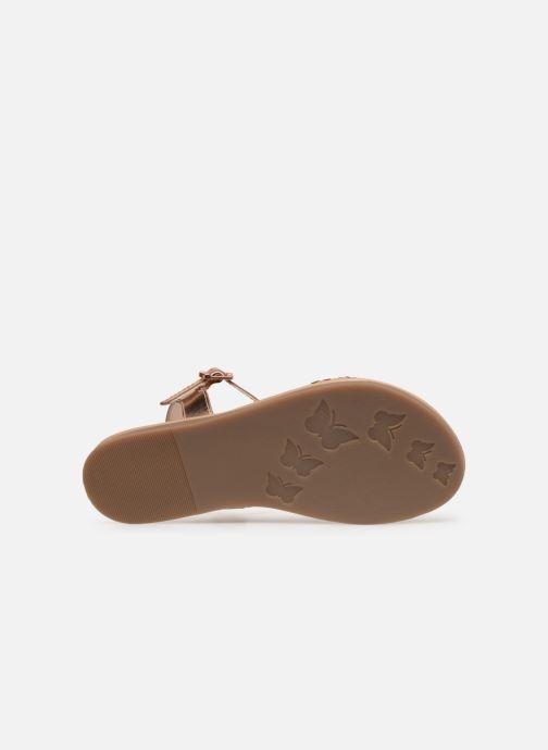 Sandales et nu-pieds Mod8 Parigirly Rose vue haut