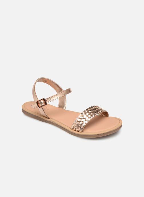 Sandales et nu-pieds Mod8 Parigirly Rose vue détail/paire
